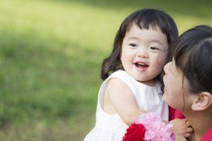 Little girl of Oriental